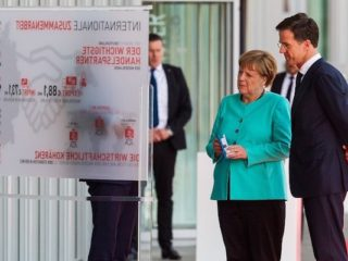 CONCEPT DESIGN meeting German Chancellor and Dutch Prime Minister